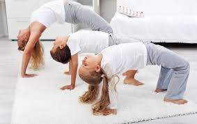 Йога, как способ подготовиться к школе