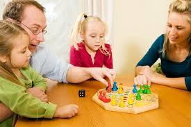 Семейные развивающие игры с детьми от четырех до семи лет